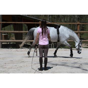 Fascione equitazione cavallo nero