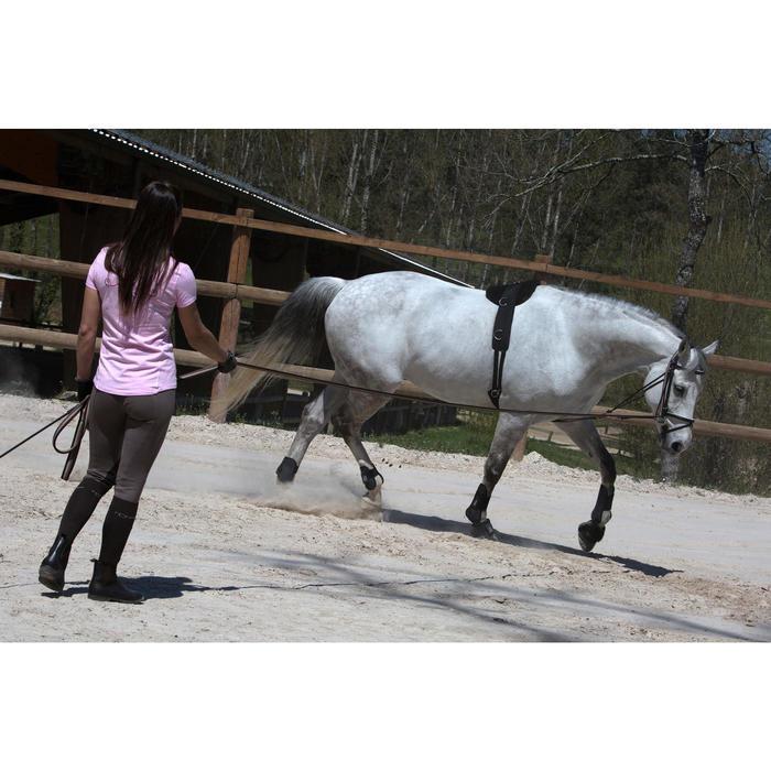 Gogue Hilfszügel Schooling Pferd braun