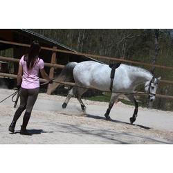 Gogue equitación caballo y poni SCHOOLING Negro