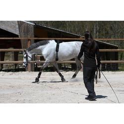 Gogue équitation SCHOOLING marron - taille cheval