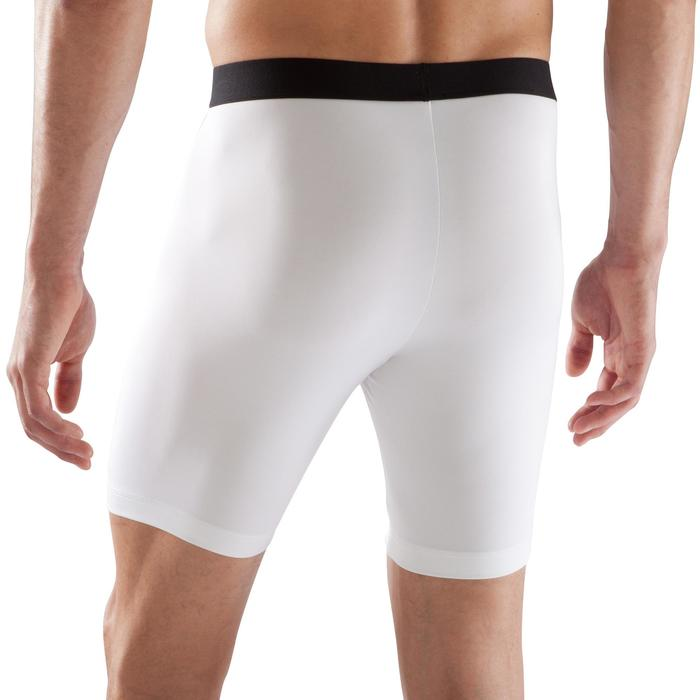 Sous short de football adulte Keepdry 100 blanc