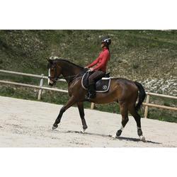 2 Streichkappen Riding Pony und Pferd braun