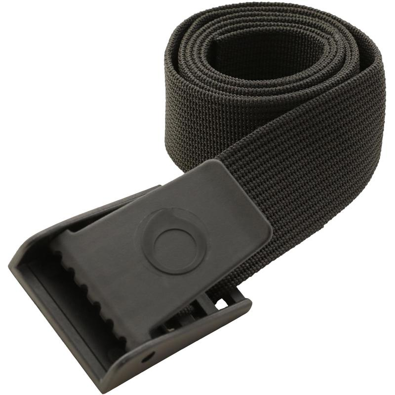 SCD diving belt with plastic buckle