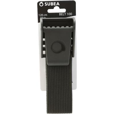 حزام الأثقال للغوص SCD100 مزود بأبزيم بلاستيكي
