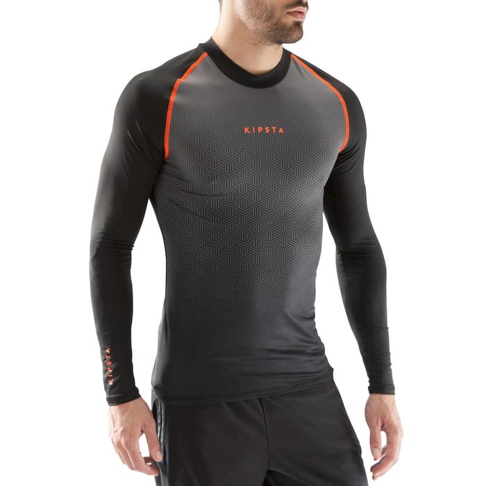 Keepdry 100 Adult Breathable Long-Sleeved Base Layer Top - Black