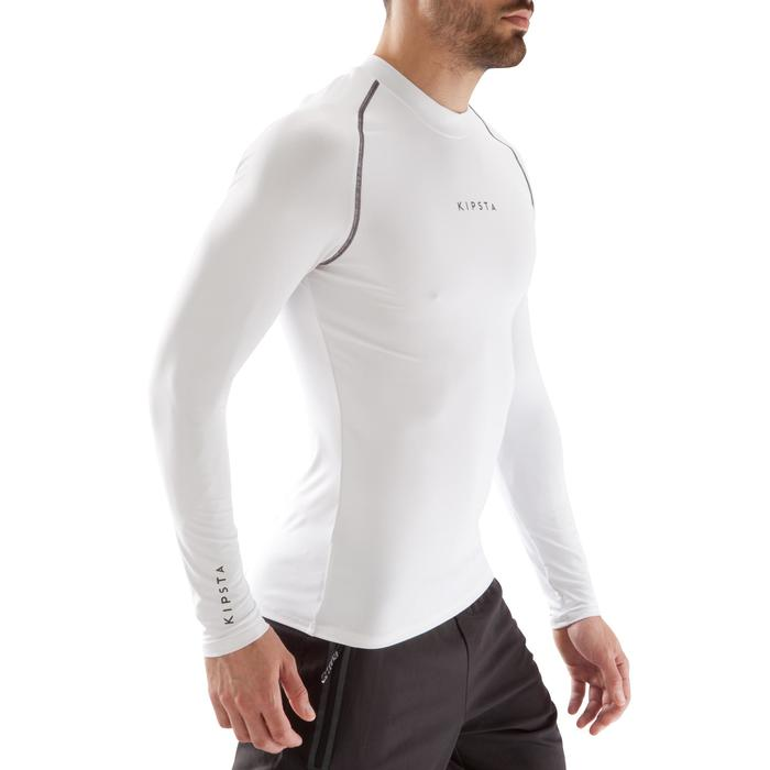Keepdry 100 Adult Breathable Long-Sleeved Base Layer Top - White