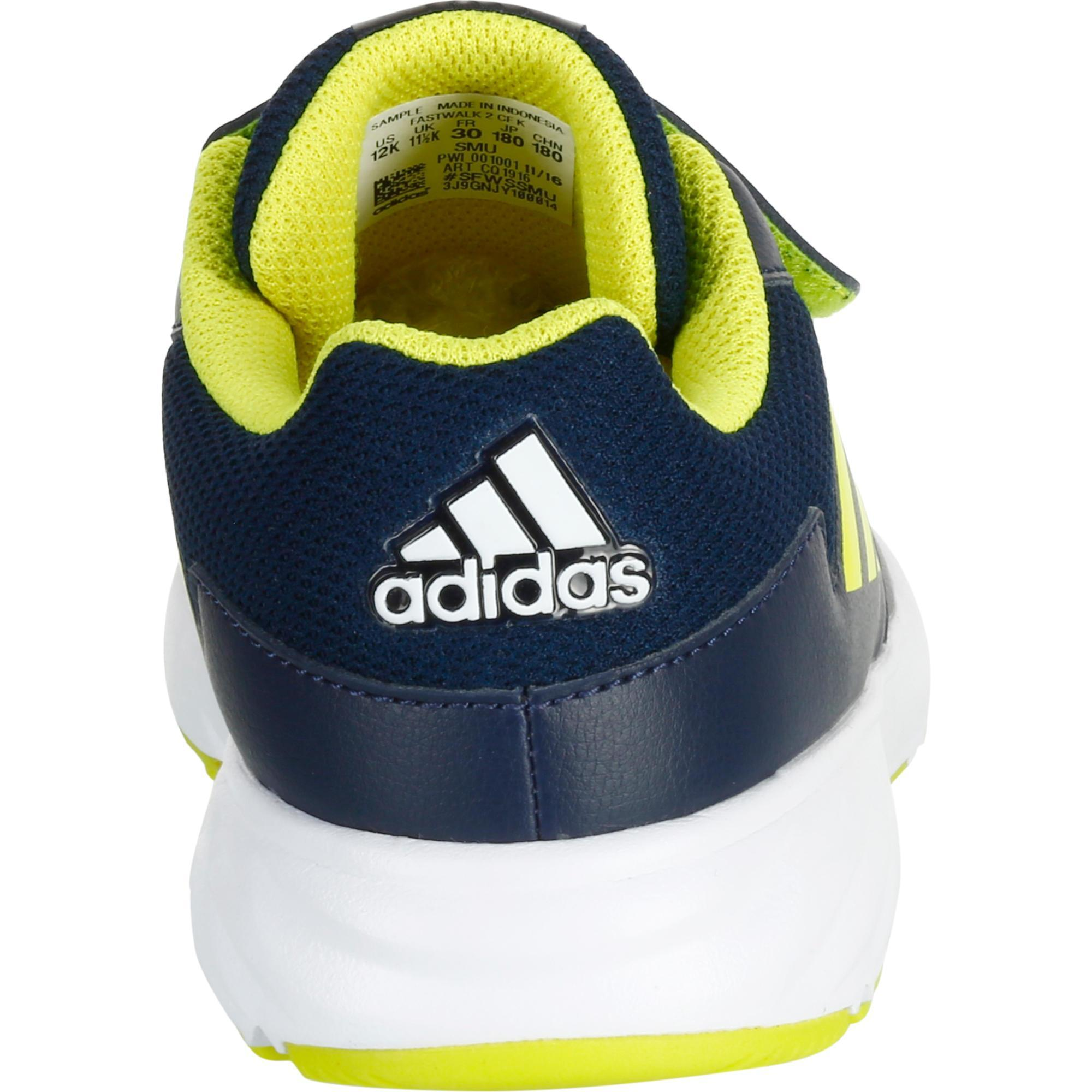 2cc8fcb3389c2 Marche Fastwalk2 Chaussures Bleu Sportive Enfant Adidas Scratch TwgPHqy