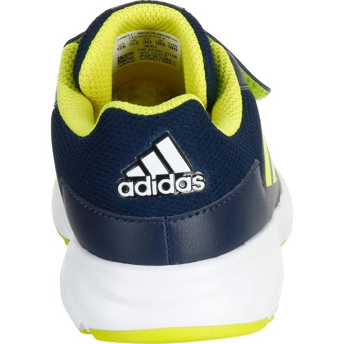 Kindersneakers Fastwalk2 klittenband blauw / geel