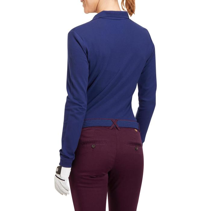 POLO MANCHES LONGUES GOLF FEMME 500 - 1183770