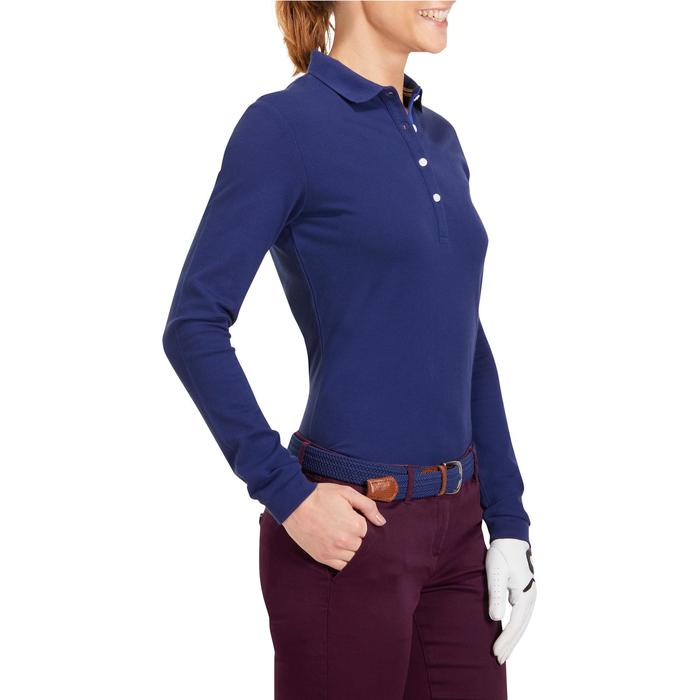 POLO MANCHES LONGUES GOLF FEMME 500 - 1183780