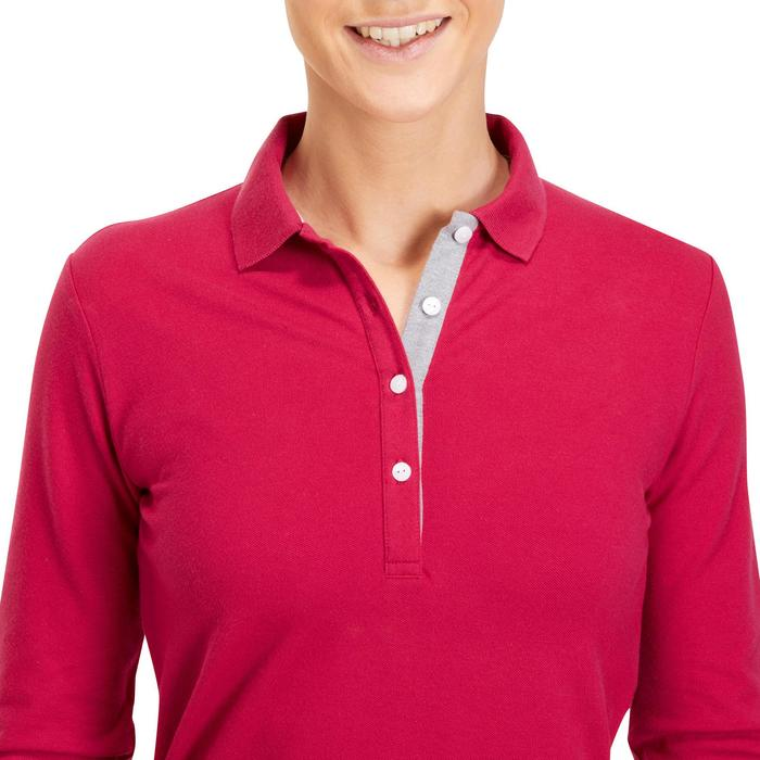 POLO MANCHES LONGUES GOLF FEMME 500 - 1183787