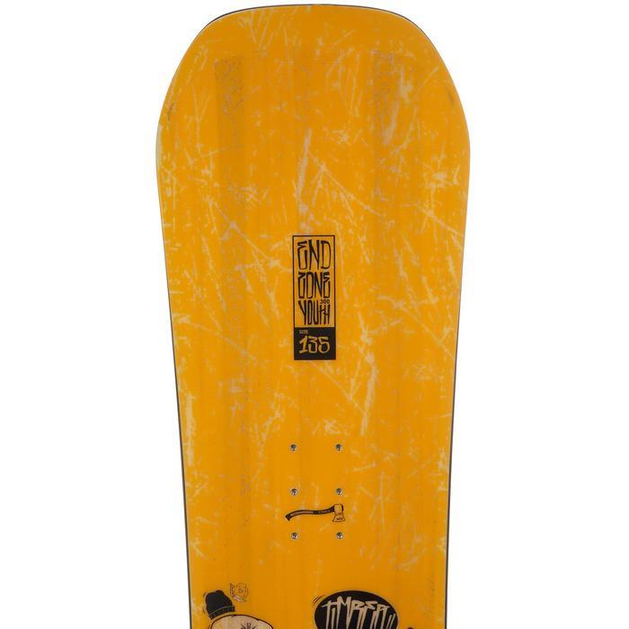 Snowboard junior End Zone 300 Youth jaune - 11838