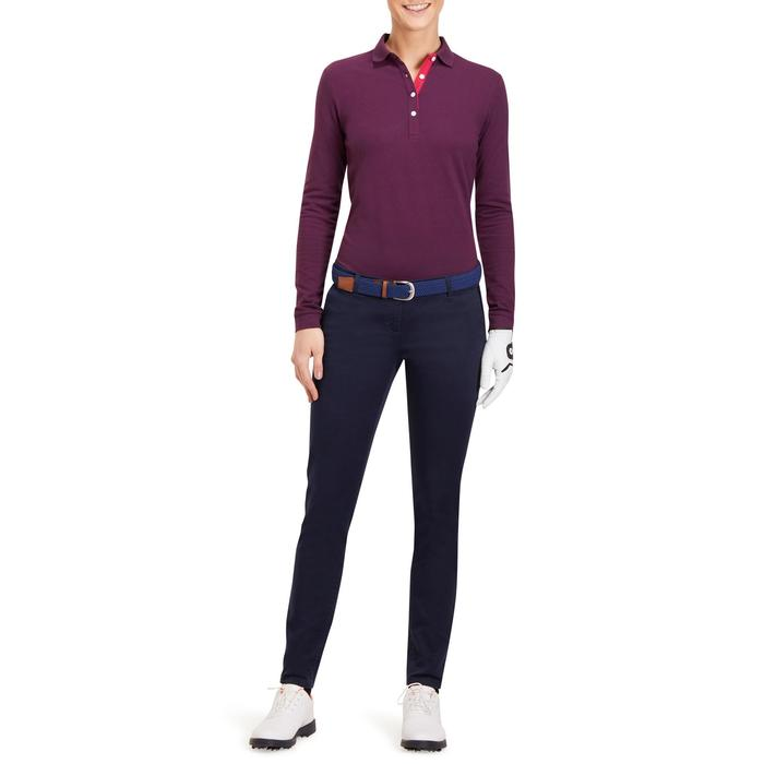 POLO MANCHES LONGUES GOLF FEMME 500 - 1183803