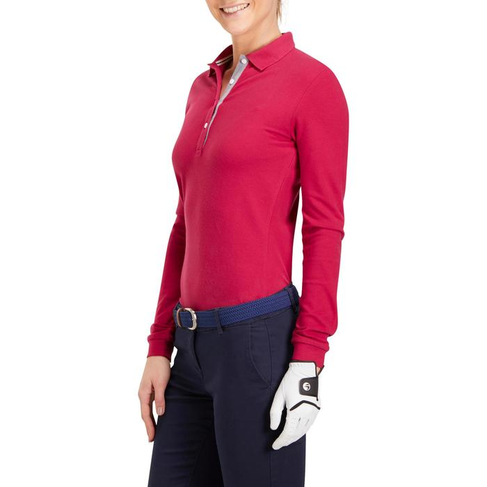 POLO MANCHES LONGUES GOLF FEMME 500 - 1183806