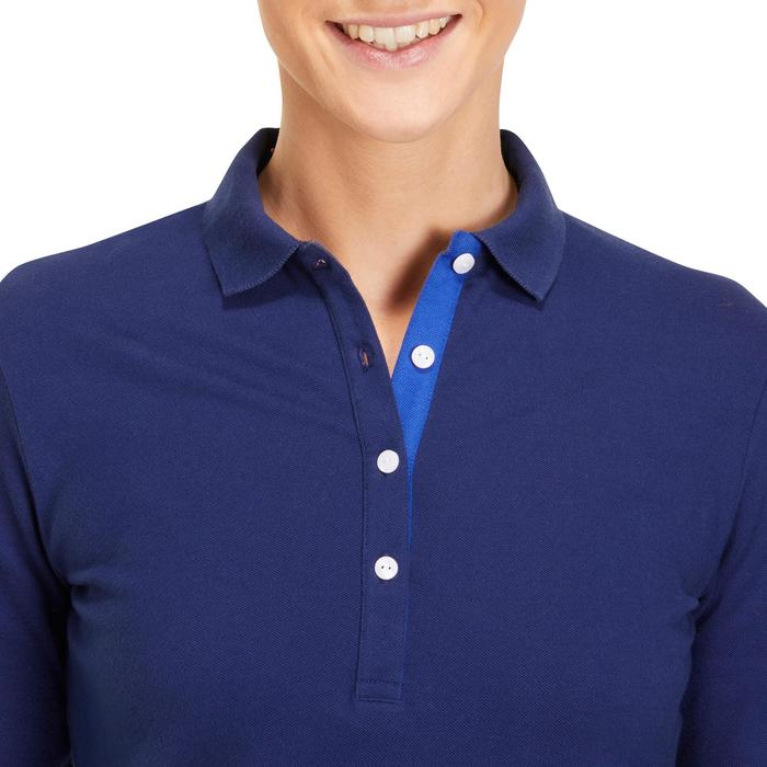 POLO MANCHES LONGUES GOLF FEMME 500 - 1183832