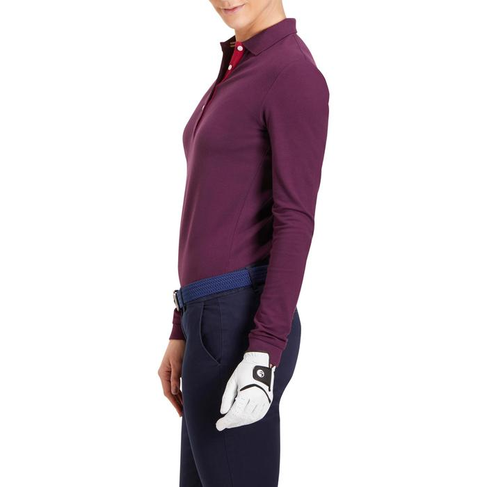 POLO MANCHES LONGUES GOLF FEMME 500 - 1183862