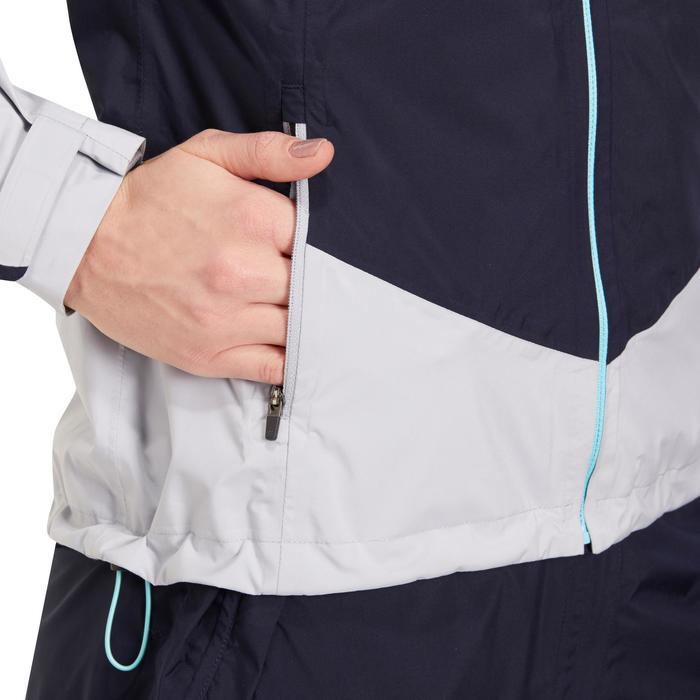Dames regenjack 900 voor golf marineblauw en grijs - 1183867