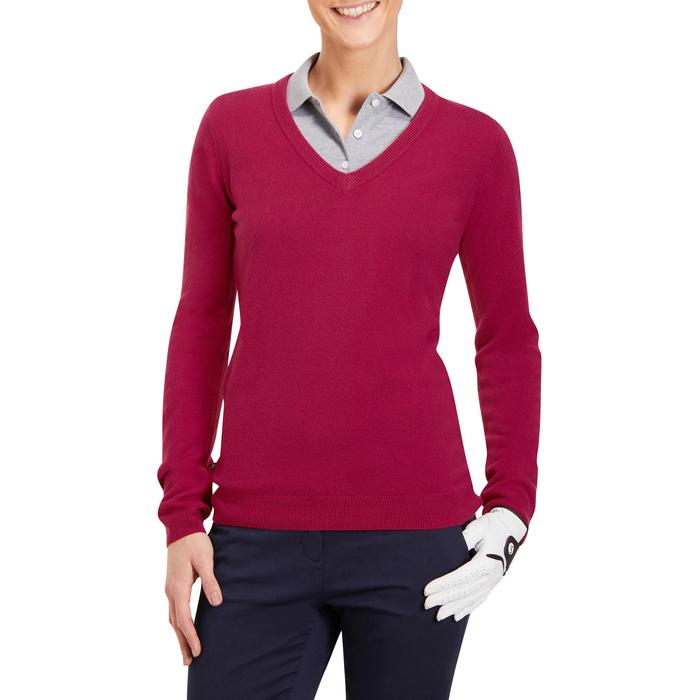 JERSEY GOLF MUJER 100 ROSA