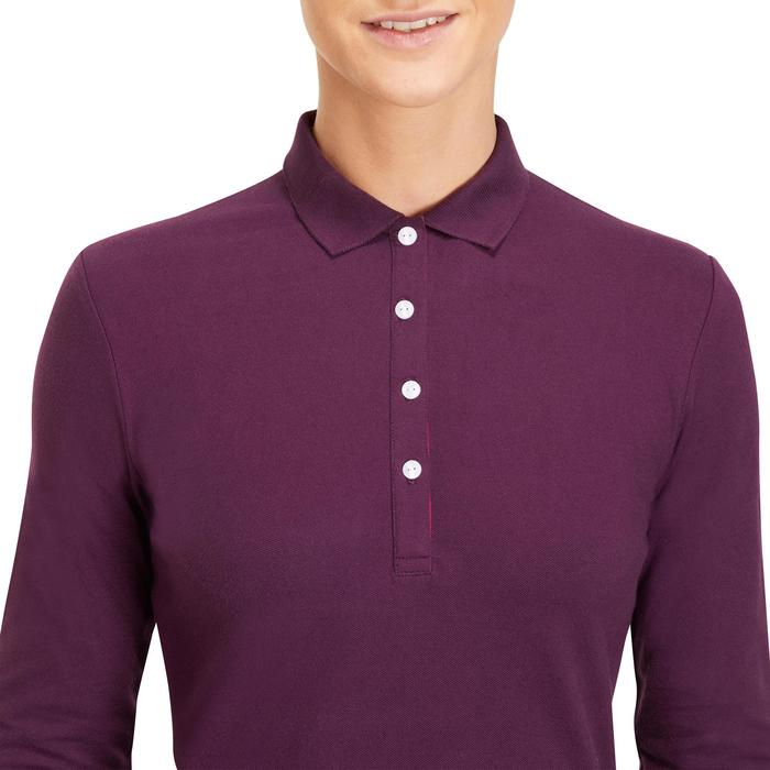 POLO MANCHES LONGUES GOLF FEMME 500 - 1183898