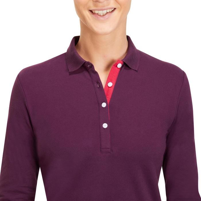 POLO MANCHES LONGUES GOLF FEMME 500 - 1183901
