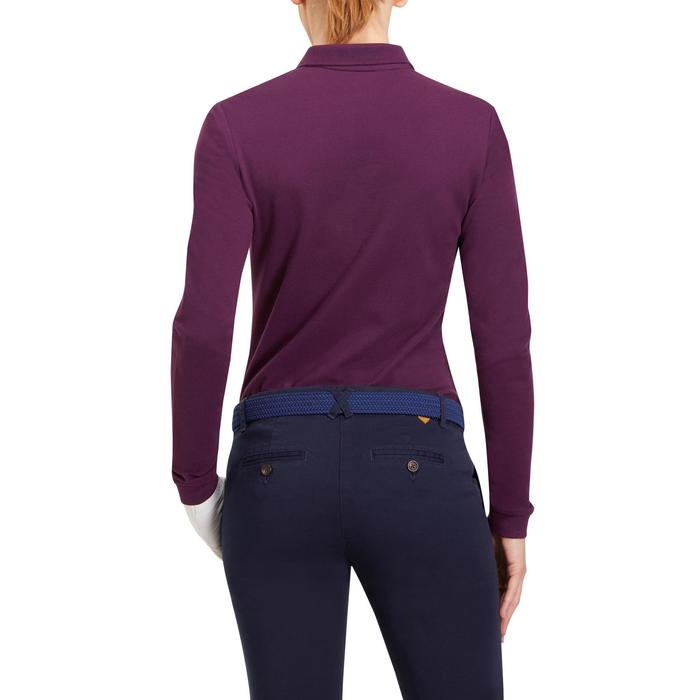 POLO MANCHES LONGUES GOLF FEMME 500 - 1183916
