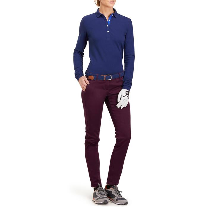 POLO MANCHES LONGUES GOLF FEMME 500 - 1183917