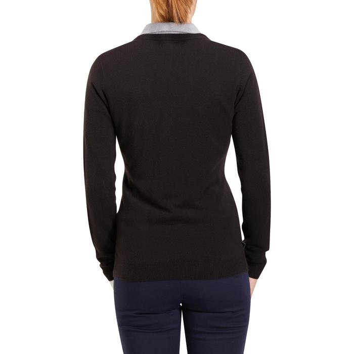 JERSEY GOLF MUJER 100 NEGRO