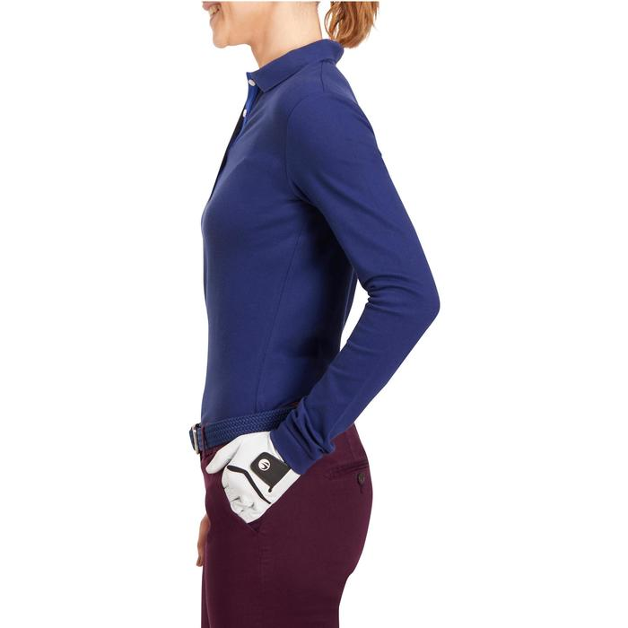 POLO MANCHES LONGUES GOLF FEMME 500 - 1183930