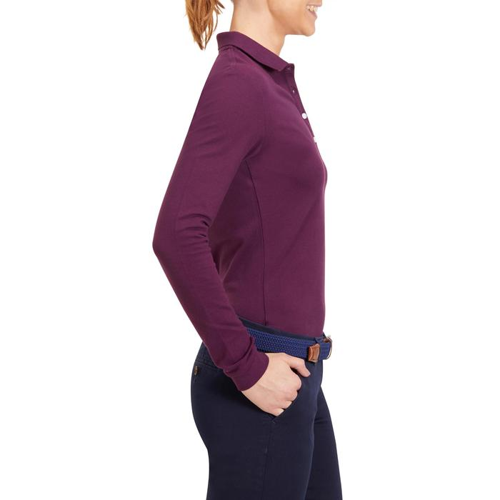 POLO MANCHES LONGUES GOLF FEMME 500 - 1183962