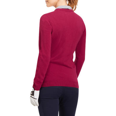 100 Women's Golf Sweater - Pink