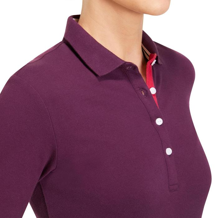 POLO MANCHES LONGUES GOLF FEMME 500 - 1183971