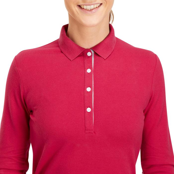 POLO MANCHES LONGUES GOLF FEMME 500 - 1183977
