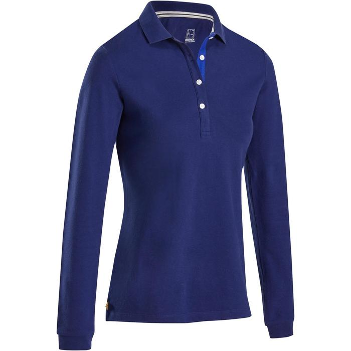 POLO MANCHES LONGUES GOLF FEMME 500 - 1183979