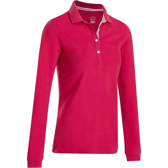 POLO MANCHES LONGUES GOLF FEMME 500 - 1183987