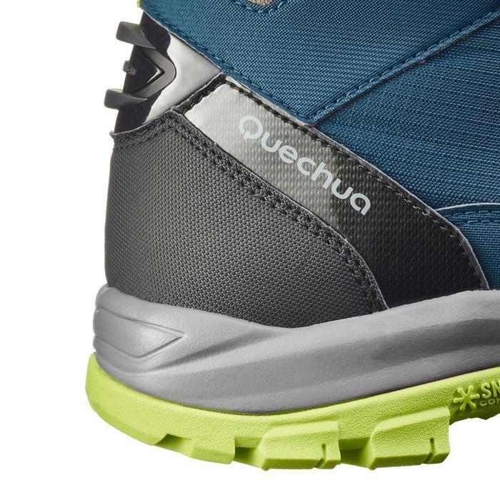 Chaussures de randonnée neige homme SH520 x-warm mid noires. - 1184033