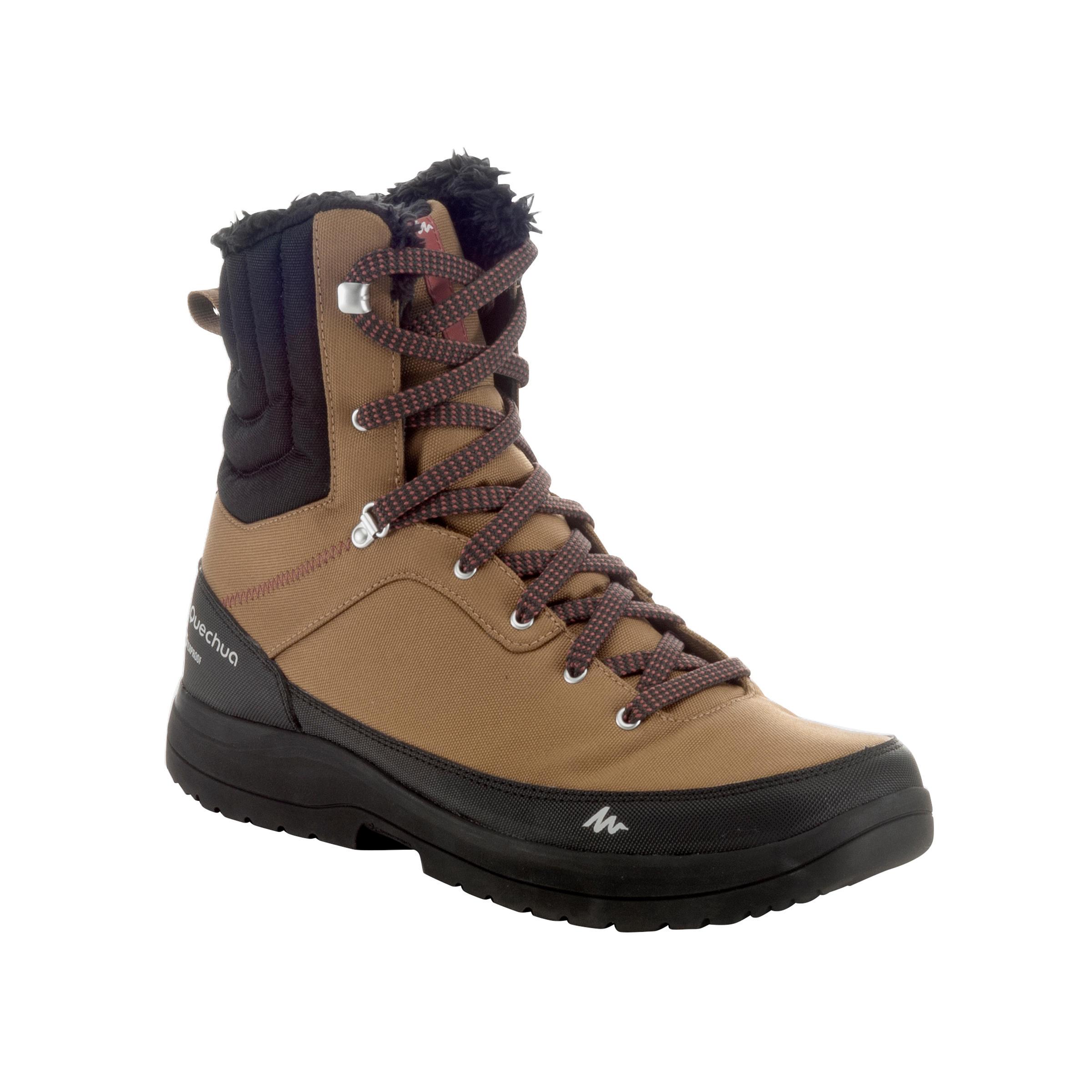 Quechua Schoenen voor wandelen in de sneeuw heren SH100 high warm waterdicht thumbnail
