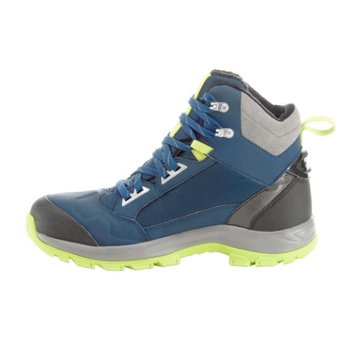 Chaussures de randonnée neige homme SH520 x-warm mid noires. - 1184050