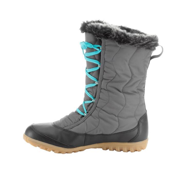 Wandellaarzen voor de sneeuw dames SH900 warm waterdicht grijs
