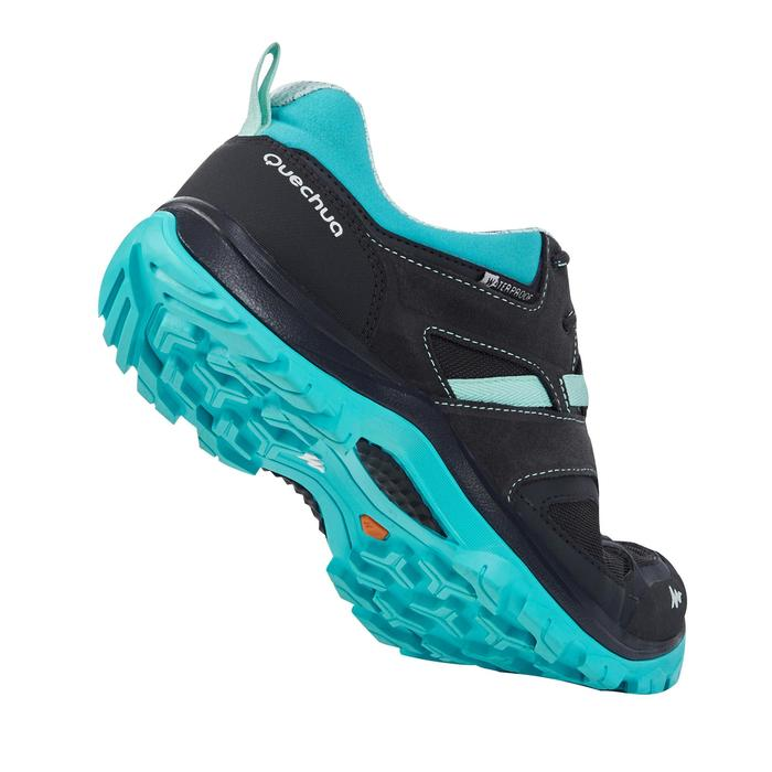 Chaussures de randonnée montagne femme MH100 imperméable - 1184098