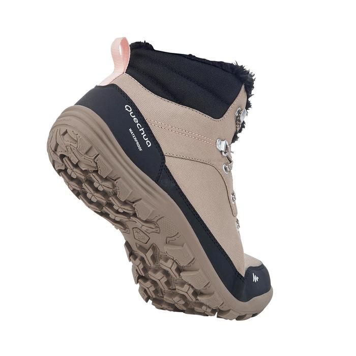 Chaussures de randonnée neige femme SH100 chaude et imperméables - 1184166