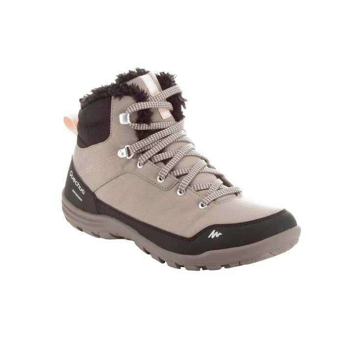Chaussures de randonnée neige femme SH100 chaude et imperméables - 1184187