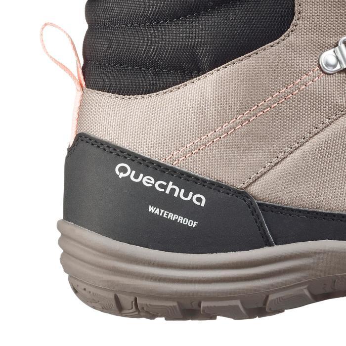 Chaussures de randonnée neige femme SH100 chaude et imperméables - 1184193