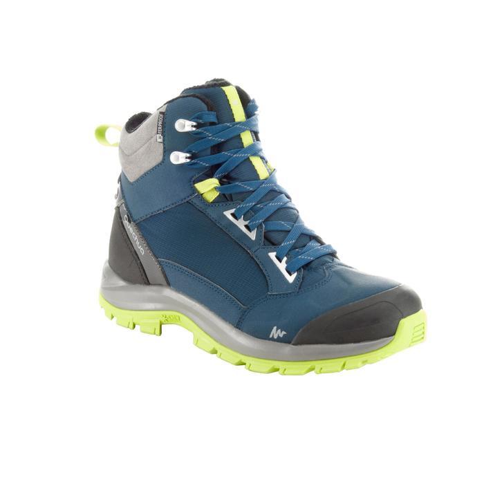 Chaussures de randonnée neige homme SH520 x-warm mid noires. - 1184195