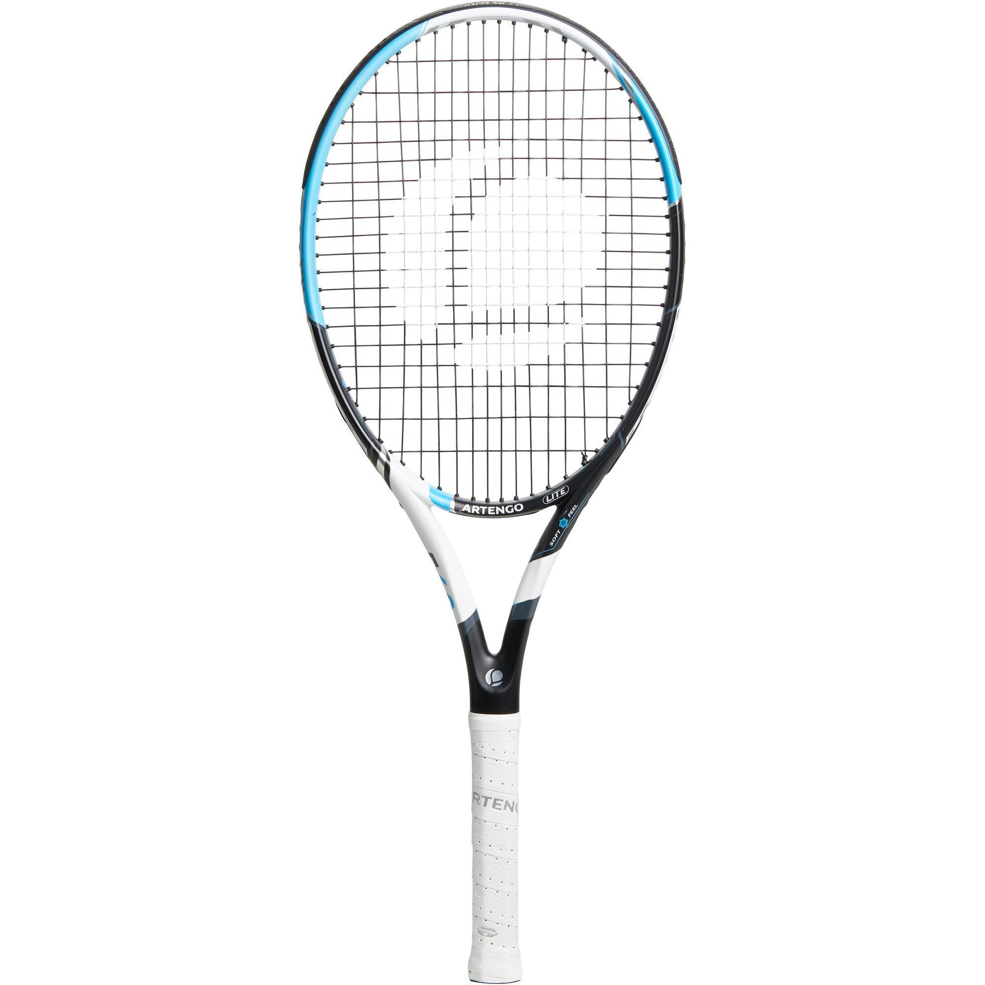 Raquette de tennis adulte artengo tr560 lite noir bleu blanc artengo - Raquette de tennis de table decathlon ...