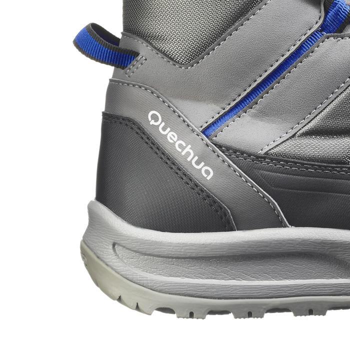 Chaussure de randonnée neige homme SH100 active chaudes et  imperméables gris - 1184343