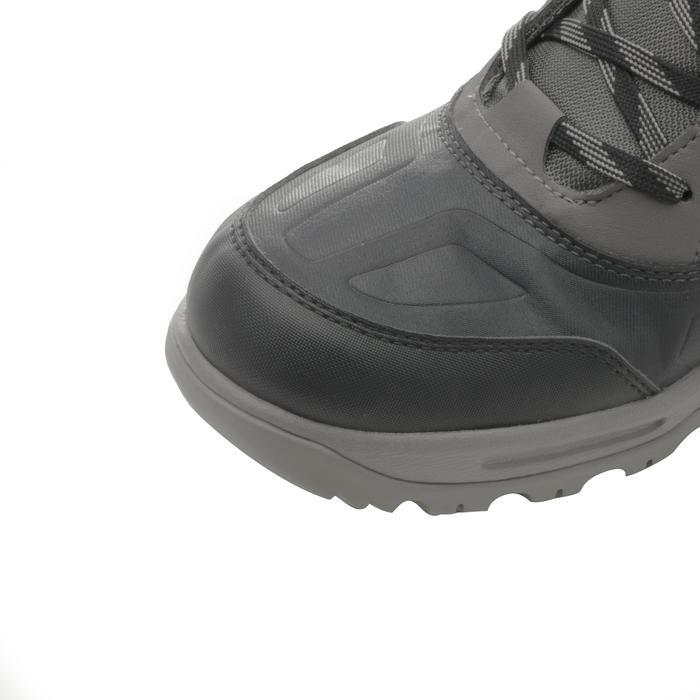 Chaussure de randonnée neige homme SH100 active chaudes et  imperméables gris - 1184347