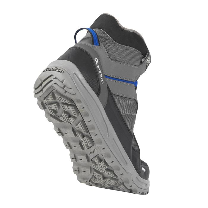 Chaussure de randonnée neige homme SH100 active chaudes et  imperméables gris - 1184349