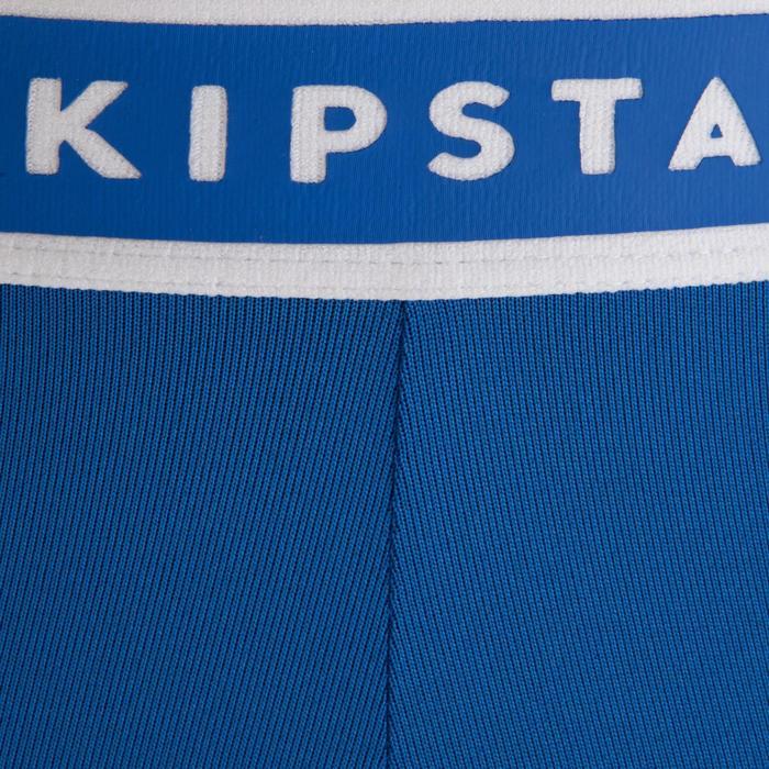 Pantalón térmico de fútbol adulto Keepdry 100 azul