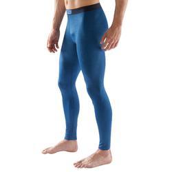Keepdry 100 Adult Tights - Heathered Blue