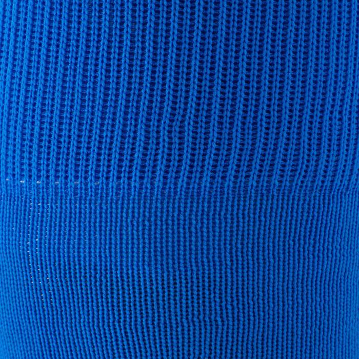 Chaussette de football adulte F500 noire et grise - 1184381